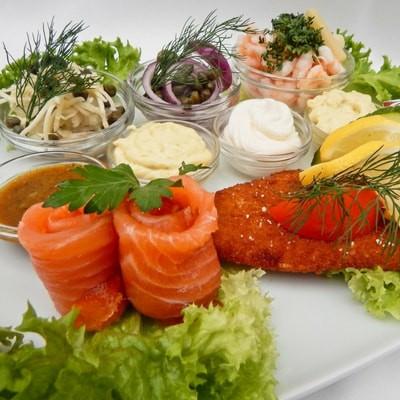 Lækker traditionel dansk mad ud af huset